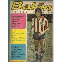 Chivas De Guadalajara En Revista De Futbol Balón De Oct 1979