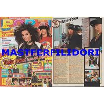 Tokio Hotel Haash Zac Efron Revista Por Ti Agosto 2008