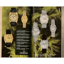 Catálogo Publicitario Relojes Omega Y Tissot De 1970