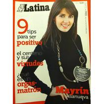 Mayrin Villanueva Revista Vida Latina