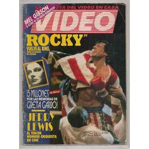 Revista Mexicana Video Cine Rocky 4 Stallone 1986