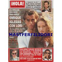 Enrique Iglesias & Lori Revista Hola España De 1995