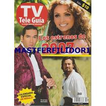 Angelica Rivera Fernando Colunga Revista Teleguia Enero 2007
