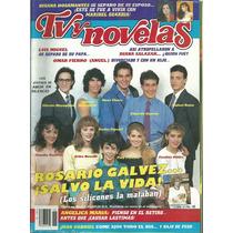 Revista Tv Y Novelas En La Portada Jovenes De Amor Silencio