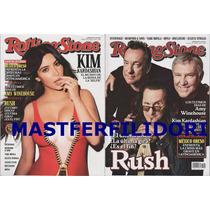 Rush Kim Kardashian Revista Rolling Stone Mexico Agosto 2015