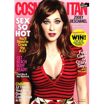 Zooey Deschanel Revista Cosmopolitan