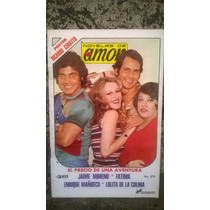 Fotonovela Novelas De Amor Jaime Moreno, Fatima, Año 1977