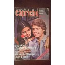 Ana Laura Y Ricardo Noriega En: Fotonovela Capricho