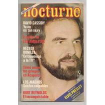 Burt Reynolds Revista Nocturno 1977