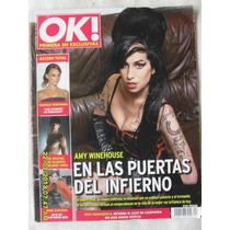 Revista Ok Amy Winehouse,su Vida De La Britanica, En Español