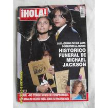 Revista Hola Michael Jackson, Su Funeral, Julio 2009