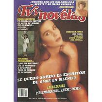 Revista Tv Y Novelas En La Portada Rebeca Jones (dos Vidas)