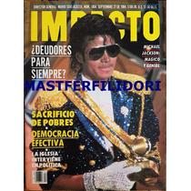 Michael Jackson Revista Impacto De Marzo 1984