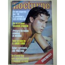 Revista Nocturno Fernando Allende Elvis Presley 1978