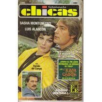 Sasha Montenegro, Luis Alarcon En Fotonovela Chicas