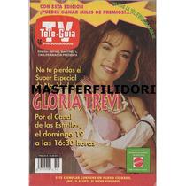 Gloria Trevi Revista Teleguia De Diciembre 1993