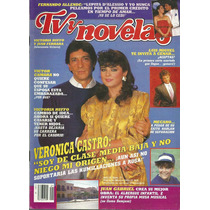 Revista Tv Y Novelas En La Portada Victoria Ruffo Y Juan F.