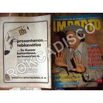 Revista Impacto, Clavillazo En Portada, Septiembre 1974