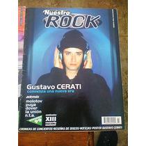 Gustavo Cerati Nuestro Rock Revista Soda Stereo