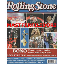Madonna U2 Bono Paul Mccartney Rolling Stone Mexico 2005