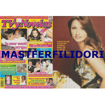 Angelica Rivera Revista Tvynovelas De Noviembre 2003