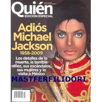 Michael Jackson Edicion Revista Especial Quien Julio 2009