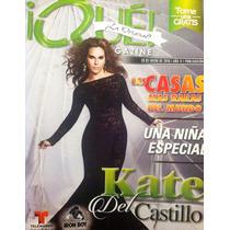 Kate Del Castillo Lucia Mendez Revista Que!