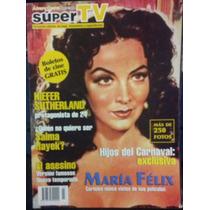 Revista Super Tv, Maria Felix, Carteles Ineditos De Pelicula