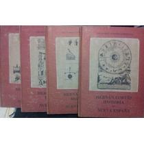 4 Libros De Hernan Cortes, Historia De La Nueva España, Mapa