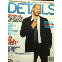 Vin Diesel Revista Details