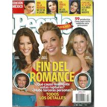 People Español Fin Del Romance Fecha Abril 2010