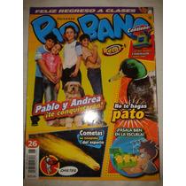 Revista Big Bang #26 Pablo Y Andrea Te Conquistaran Lbf