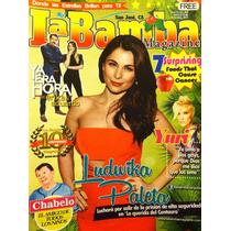 Ludwika Paleta Yuri El Canelo Jen Carlo Canela Revista Bamba