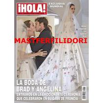 Angelina Jolie & Brad Pitt Boda Revista Hola 2014