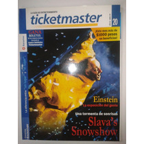 Revista Ticket Master #20 Coachella Vincent Gallo Fn4