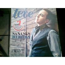 Cristian Castro En Revista Teve De Diciembre Del 2011