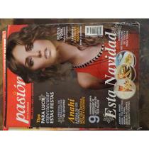 Revista Pasion Por La Cocina Portada Anahi De Coleccion