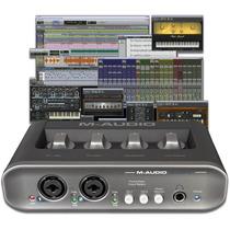 M-audio Mobile Pre Mkii Fast Track Profesional Graba 24 Bits