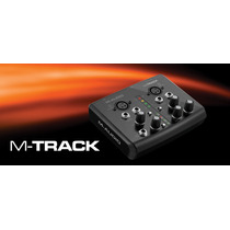 M-audio M-track Interface Usb Midi Profesional De 24 Bits