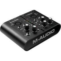 M-audio M-track Plus Interface Profesional 24 Bits Protools