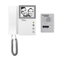 Kit De Tv Portero Con Auricular, Monitor Blanco Y Negro 4