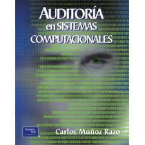 Libro: Auditoría En Sistemas Computacionales Pdf