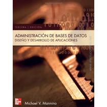 Libro: Administración De Bases De Datos Pdf