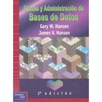Diseño Y Administración De Bases De Datos Pdf