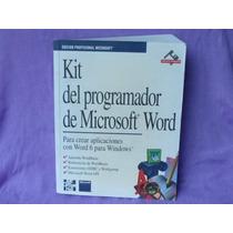 Kit Del Programador De Microsoft Word, Mcgraw-hill, Madrid.