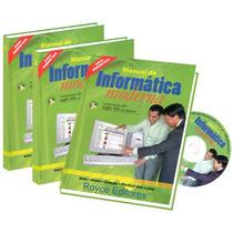 Manual De Informática Moderna 3 Vols + 1 Cd Rom - Diseli Fn4