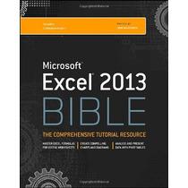 Microsoft Excel 2013 Bible John Walkenbach
