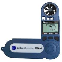 Ambient Tiempo Wm-4 Estación Meteorológica De Mano W / Direc