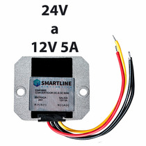 Convertidor De Voltaje, Corriente Directa 24v A 12v 5a