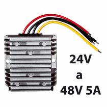 Convertidor De Voltaje 24v A 48v 5a